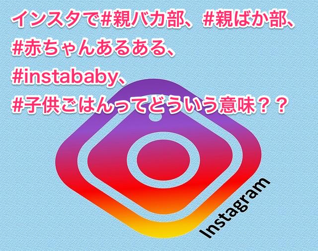 #親バカ部、#親ばか部、#赤ちゃんあるある、#instababy、#子供ごはんってどういう意味??
